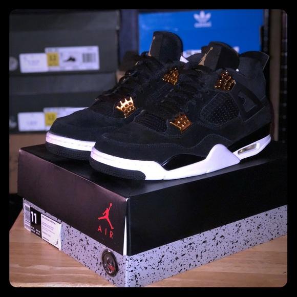 dc1a9a51e63a57 Nike air jordan retro 4 s (royalty)